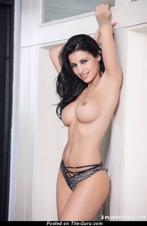 Image. Nude hot woman with medium tits photo