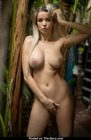 Yummy Babe with Yummy Bald C Size Breasts (Hd Porn Image)