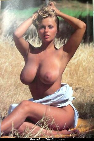 Joanne Latham - topless amazing female with medium natural tots vintage