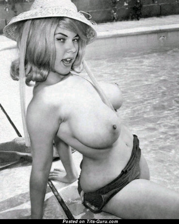 Image. Jayne Mansfield - naked awesome female with big natural breast vintage