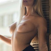 Sexy blonde with natural tittes image