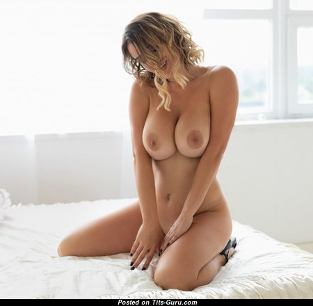 Appealing Undressed Babe with Giant Nipples, Sexy Legs (Sex Image)