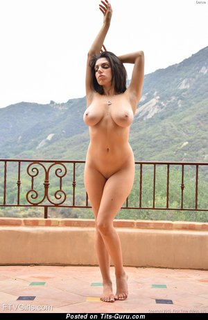 Image. Darcie Dolce - sexy naked brunette with big natural boobies picture