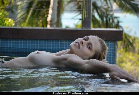 Teresa Palmer - Splendid Australian Blonde with Splendid Bald Real Tit (Hd 18+ Pic)