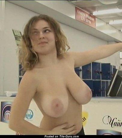 Image. Olga Pavlenko - beautiful woman with big natural tittys pic