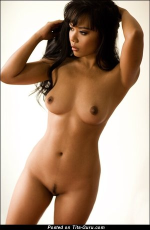 Dazzling Moll with Dazzling Naked Real C Size Jugs (Sexual Wallpaper)