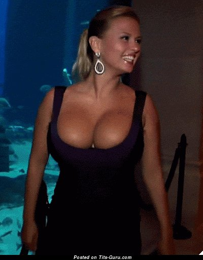 Anna Semenovich - nude amazing woman with huge tittys gif