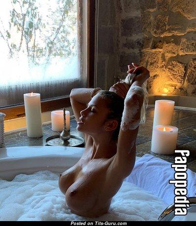 Natalya Krasavina - Yummy Wet Blonde Babe with Yummy Open Fake Regular Knockers & Red Nipples (Hd 18+ Photo)