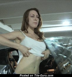 Image. Awesome woman with medium natural tittes gif