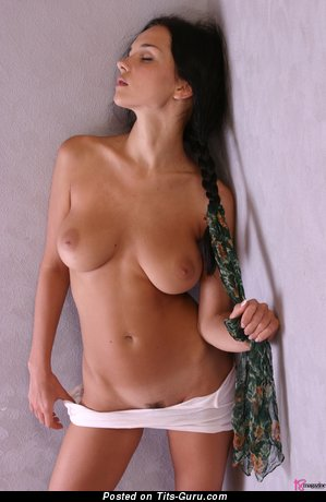 Image. Jenya D - nude brunette with natural tits pic