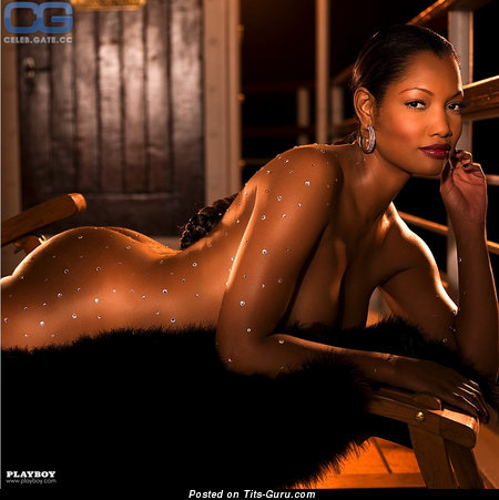 Garcelle Beauvais - Delightful Haitian, American Brunette Actress with Dazzling Bare Natural Tittys (Sex Picture)