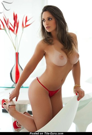 Image. Joice Brum - naked brunette with big boobs picture