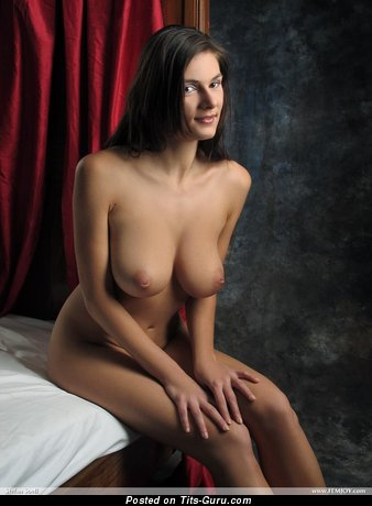 Image. Anita Queen - nude wonderful lady with big natural tittys image