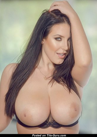 Nice Babe with Nice Exposed Natural Knockers (Hd Sex Photoshoot)