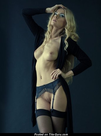 Image. Nude amazing lady with medium natural boobies image