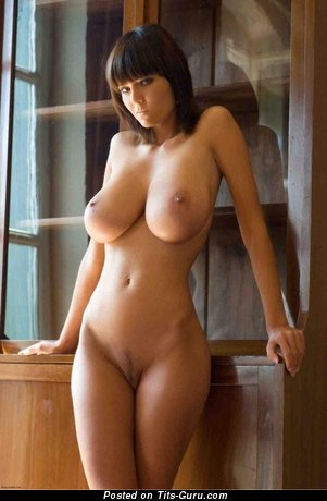 Image. Sexy naked awesome girl with big natural breast picture