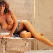 Jo Peace - awesome woman with natural boobs vintage