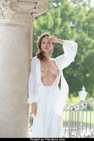 Olga Alberti - Sweet Topless Russian Red Hair with Sweet Nude Real Busts (Hd Xxx Photoshoot)