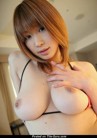 Image. Unknown - asian red hair with big natural tittes image