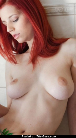 Image. Piper Fawn - sexy naked red hair with big natural breast photo
