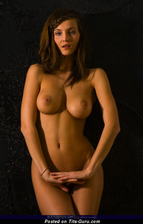 Image. Nude awesome woman with big natural boob photo