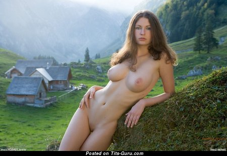 Superb Woman with Superb Defenseless Natural Big Sized Knockers (Hd Sexual Photoshoot)