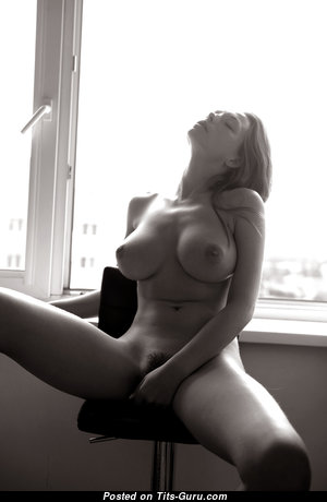 Appealing Babe with Appealing Naked Real Average Jugs (Hd Porn Pix)