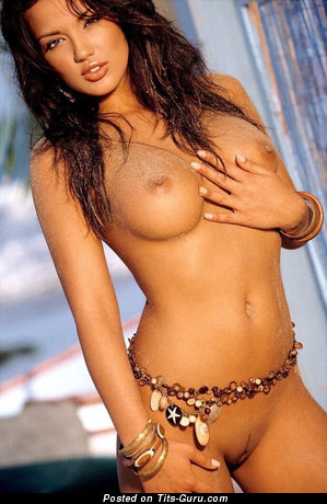 Image. Sexy awesome lady with fake boobs pic