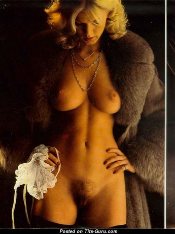 Brigitte Lahaie - Exquisite Topless French Blonde Pornstar with Exquisite Nude Natural Titties & Weird Nipples (Vintage Hd Sex Picture)