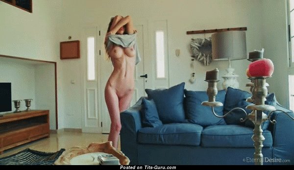 Image. Naked beautiful female with big breast gif