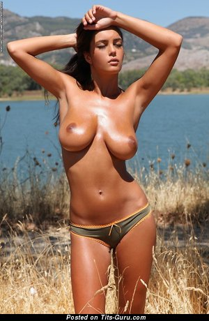 Image. Nude nice female with big natural breast picture