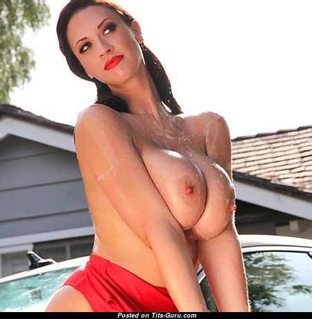 Alluring Unclothed Babe with Large Nipples (18+ Pix)