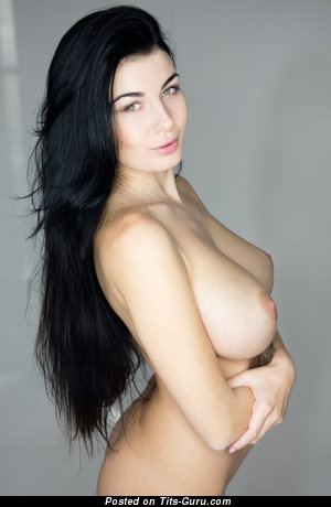Nude nice woman with big natural tittys photo