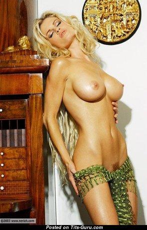 Elegant Babe with Elegant Naked Natural Normal Tits (18+ Pix)