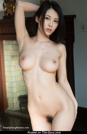 Cina Matsuoka - Marvelous Topless Asian Babe with Marvelous Bald Natural Normal Tits (Hd Sexual Wallpaper)