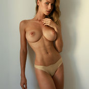 Hot female with big natural tittes photo