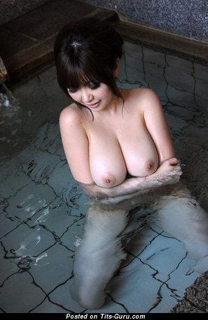Rio Hamasaki - Fine Japanese Pornstar with Fine Naked Fake Vast Melons (Hd 18+ Pic)