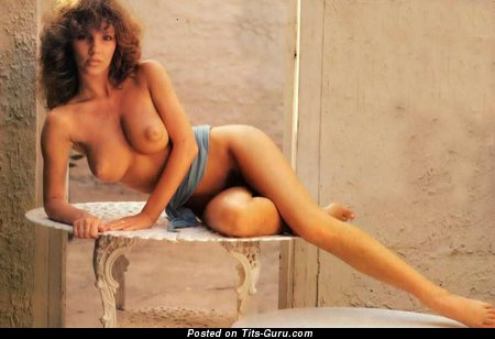 Image. Jo Peace - nude wonderful woman with natural boob vintage