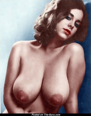 Janey Frawley - Delightful Canadian Babe with Delightful Bald Natural Melons (Xxx Picture)