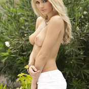 Nicole Neal - blonde with medium natural boobies photo