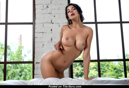 The Best Nude Brunette with Puffy Nipples (Hd Porn Photoshoot)