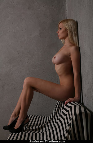 Image. Nude wonderful girl with natural boob image