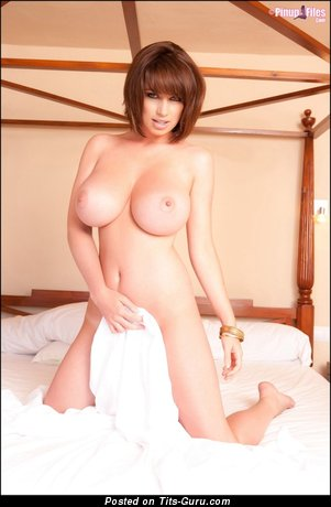Good-Looking Miss with Good-Looking Bald Large Tittys (Sexual Pic)