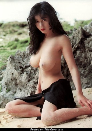 Image. Chicao Aoyama - nude asian brunette with medium natural tots pic