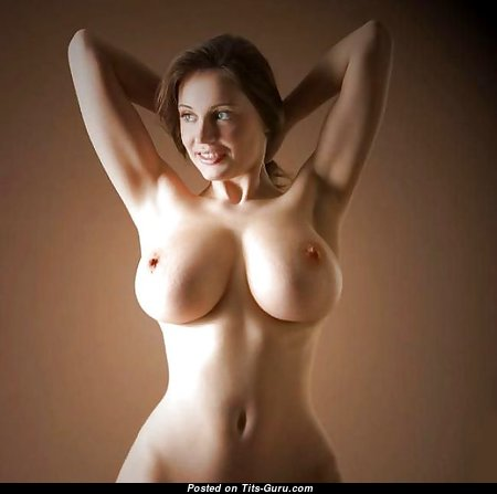 Superb Babe with Superb Exposed Real Big Sized Boobs (18+ Wallpaper)