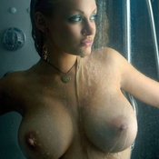 Awesome woman with big tittes image