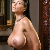 Veronika Zemanova - beautiful female with huge fake tittys picture