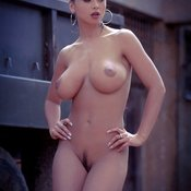 Veronica Zemanova - sexy nude brunette with big natural boobs image