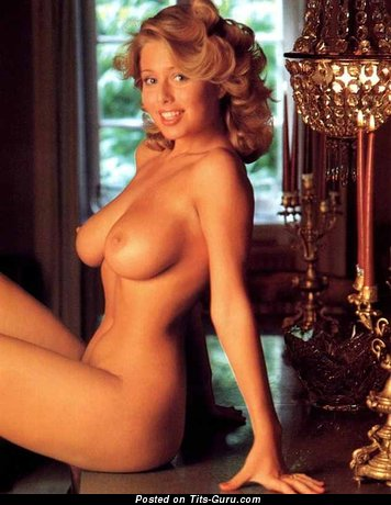 Image. Marina Larsen - naked blonde with natural tittys vintage