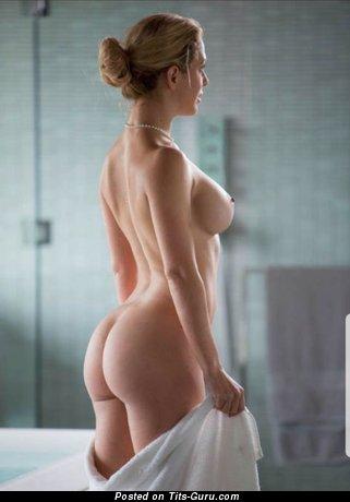 Картинка сексуальной голой блондинки
